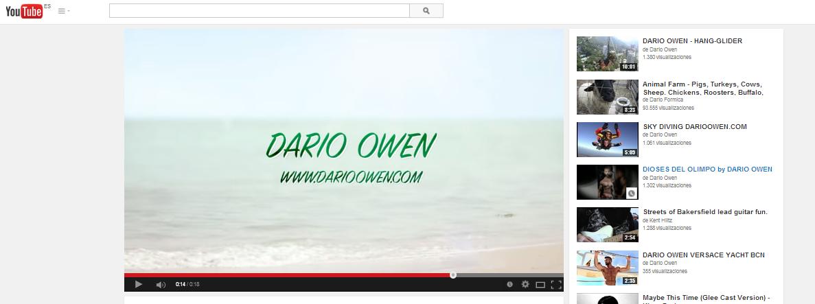 "Dario Owen ""Having fun"" video"