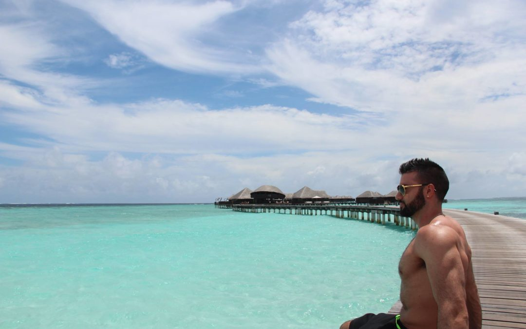 Dario Owen en Maldivas