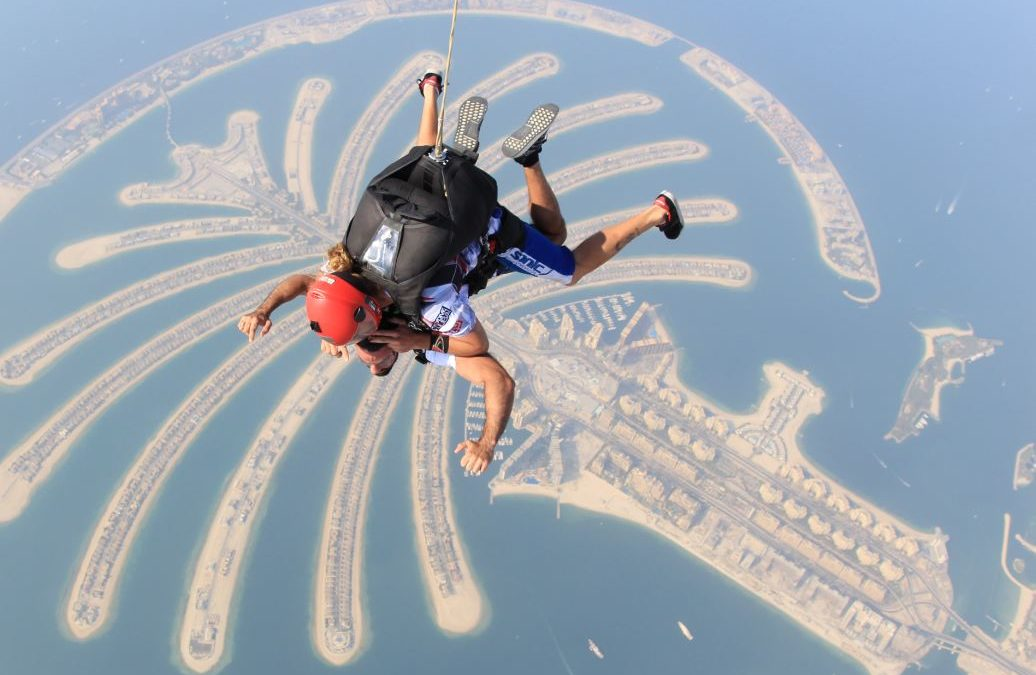 DARIO OWEN IN SKYDIVE DUBAI: NEW PICTURES