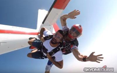 DARIO OWEN IN SKYDIVE DUBAI