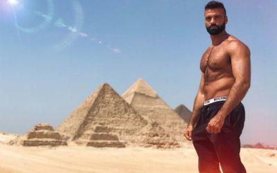 Dario Owen in Egipto