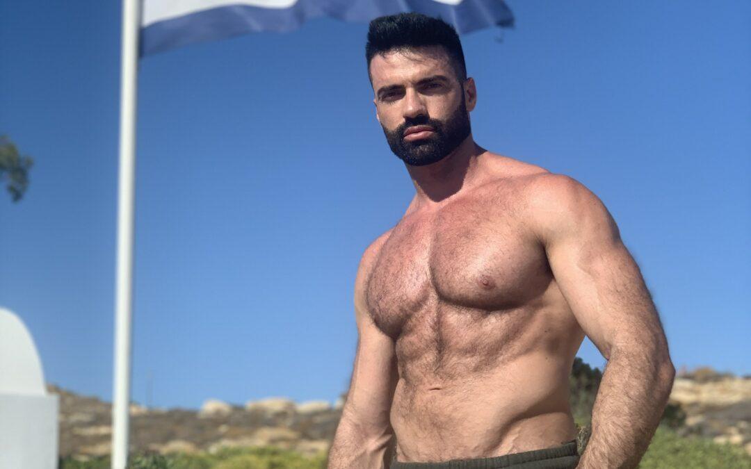 Dario Owen en Mykonos Greece